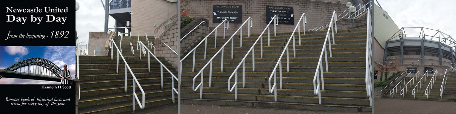 Entrance to Gallowgate and Leazes Stands.