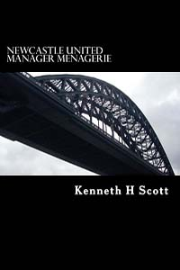Book Cover - Newcastle United Manager Menagerie