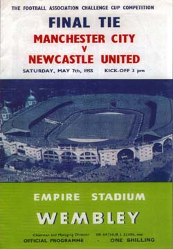 Matchday Programme : 07/05/1955