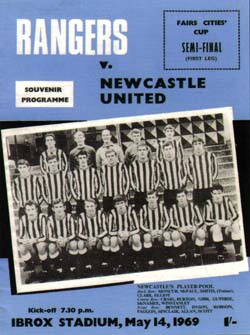 Matchday Programme : 14/05/1969