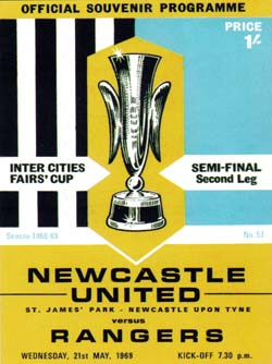 Matchday Programme : 21/05/1969
