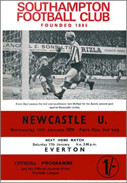 Matchday Programme : 14/01/1970