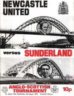 Matchday Programme : 06/08/1975