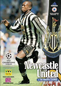 Matchday Programme : 13/08/1997